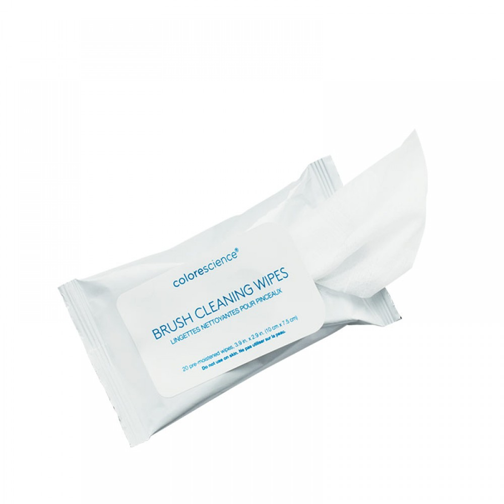 Серветки для очищення щіток- Colorescience Brush Cleaning Wipes