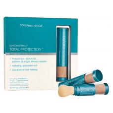 Набір: Сонцезахисна пудра з пензлем SPF50 - Colorescience Sunforgettable® Multipack