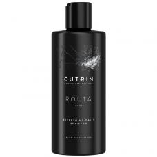 Ежедневный освежающий шампунь - Cutrin Routa For Men Refreshing Daily  Shampoo