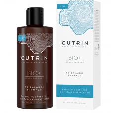 Балансирующий и увлажняющий шампунь - Cutrin Bio+ Re-Balance Shampoo