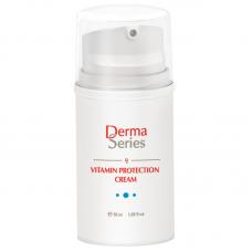Мультивитаминный крем-протектор - Derma Series Vitamin protection cream