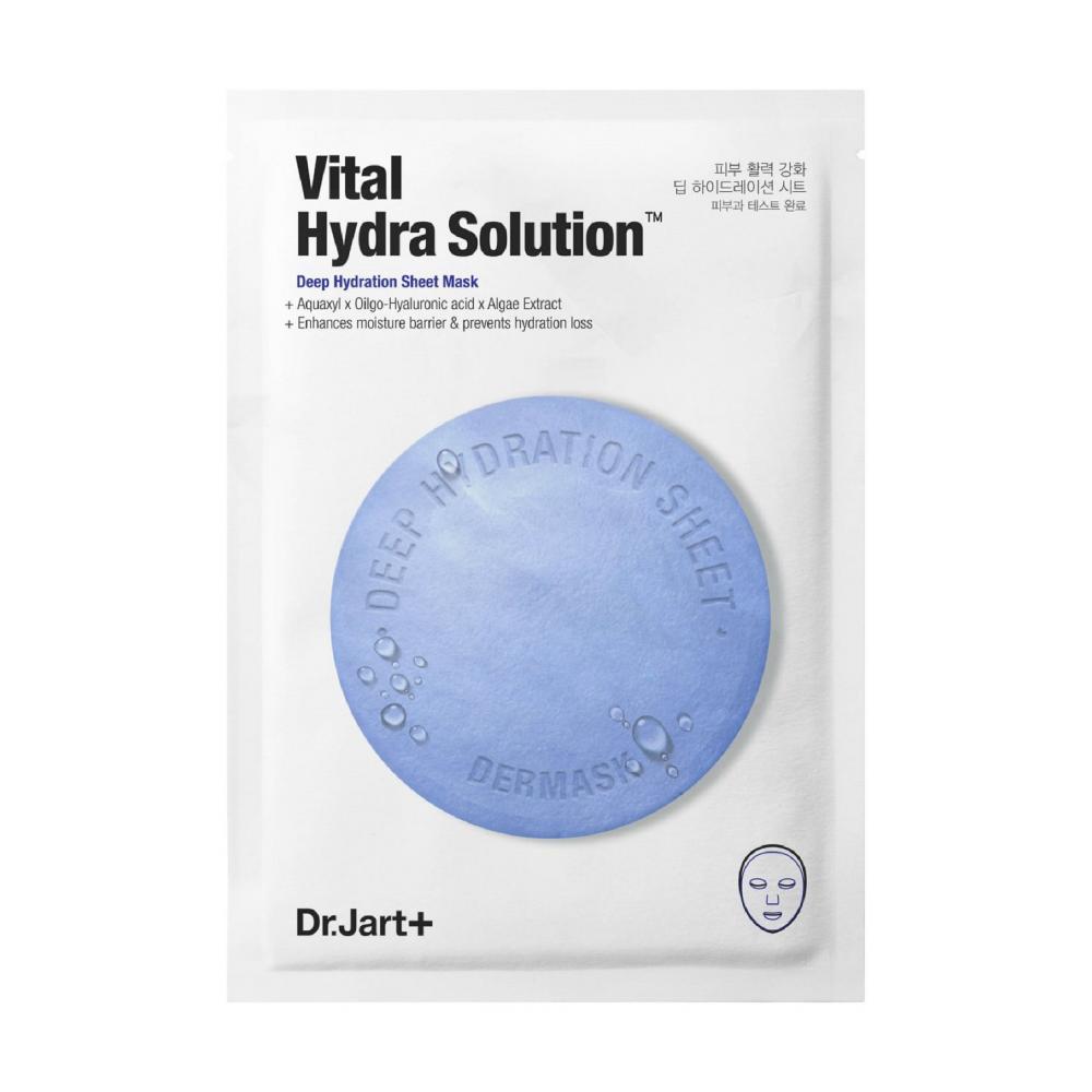 Увлажняющая маска с гиалуроновой кислотой - Dr.Jart+ Water Jet Vital Hydra Solution