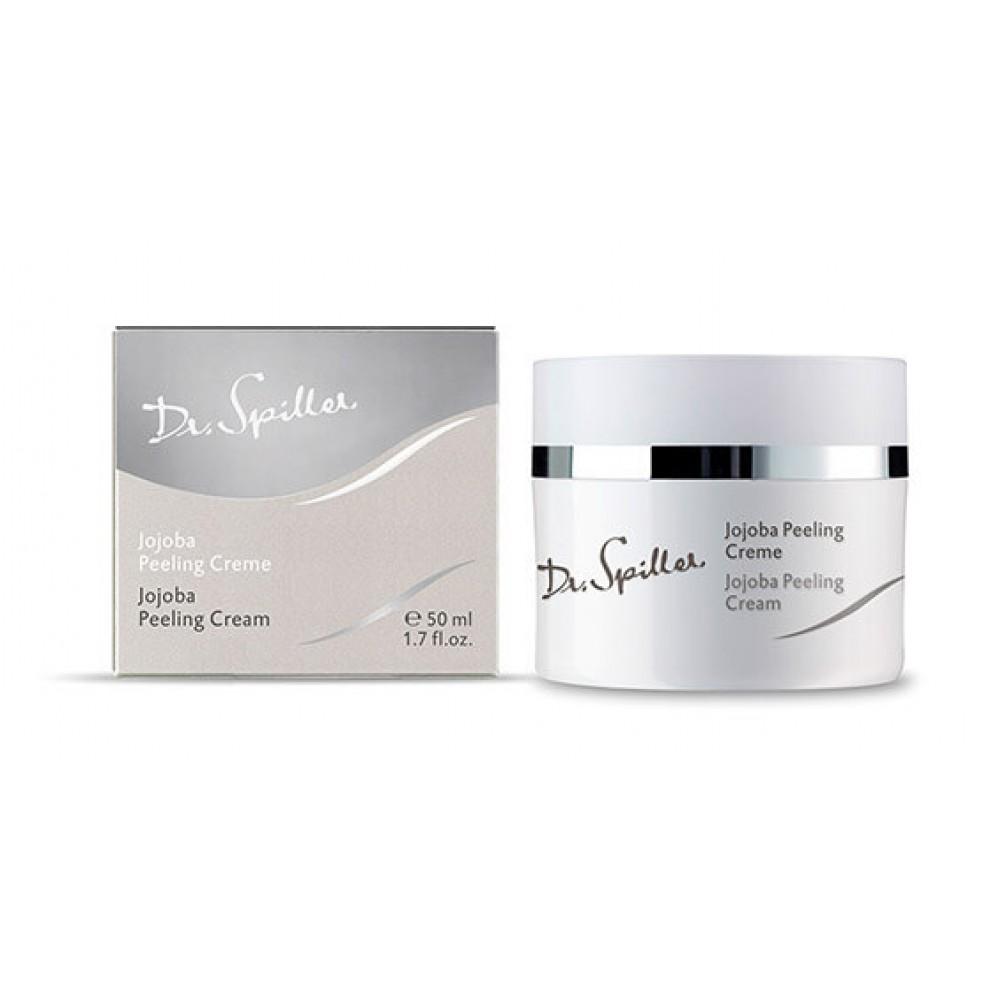 Відлущуючий крем з жожоба - Dr.Spiller Jojoba Peeling Cream