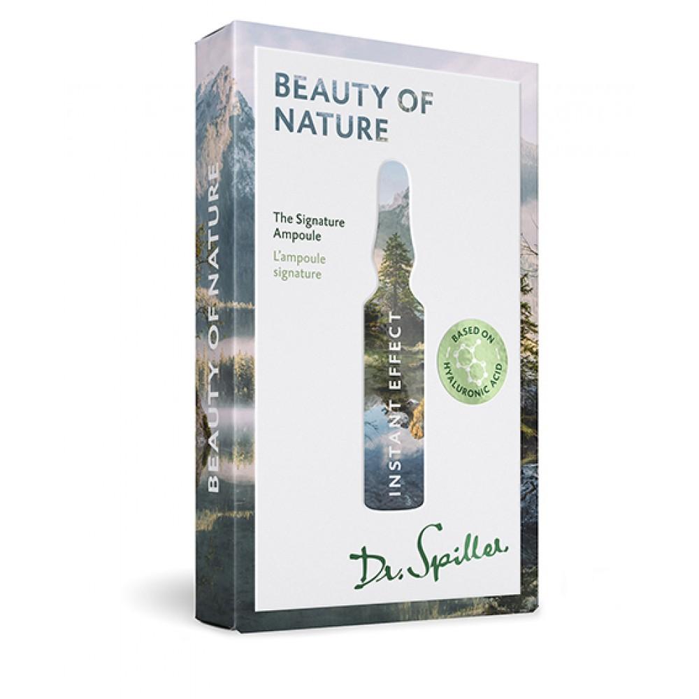 Ампульный концентрат мгновенного омолаживающего действия - Dr. Spiller Instant Effect — Beauty of Nature