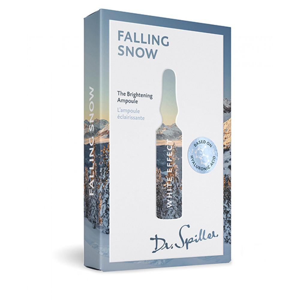 Ампульный концентрат для выравнивания тона кожи - Dr. Spiller White Effect — Falling Snow