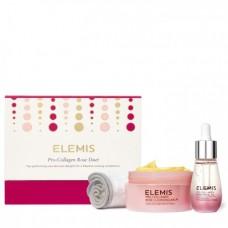Набор Про-Коллаген Дуэт Роза - Elemis Pro-Collagen Rose Duet Gift Set