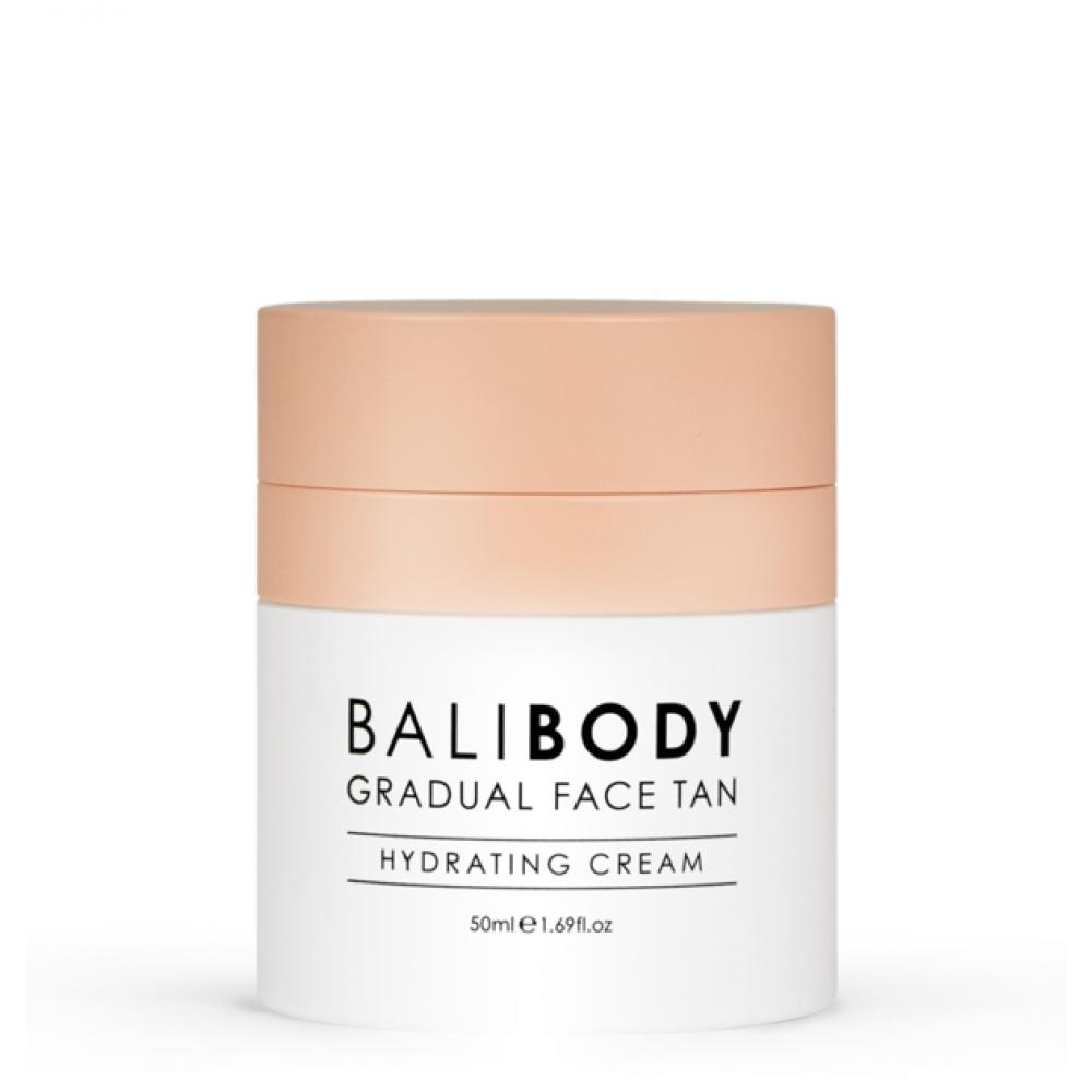 Зволожуючий крем для обличчя з ефектом автозасмаги - Bali Body Gradual Face Tan