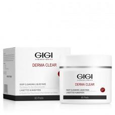 Влажные спонжи для пилинга - GIGI Derma Clear Deep Cleansing Liquid Pads