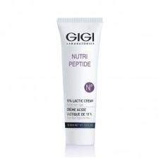 Пептидный крем с 10% молочной кислотой - GIGI Nutri-Peptide 10% Lactic Cream
