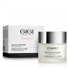 Ночной лифтинг крем - GIGI Vitamin E Night&Lifting Cream