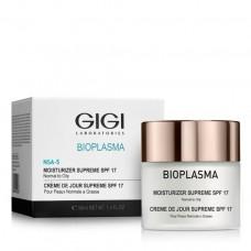 Крем увлажняющий для нормальной и жирной кожи SPF-17 - GIGI Bioplasma Moist Supreme SPF-17