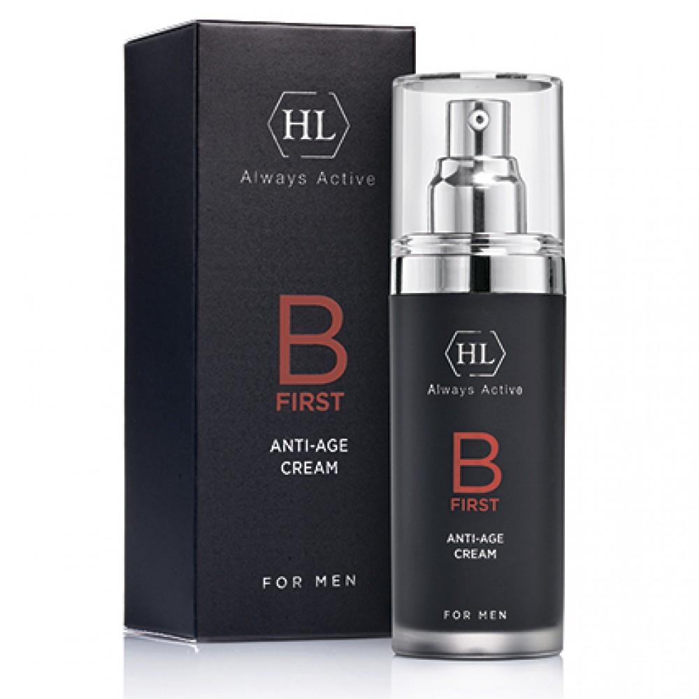 Антивозрастной крем для мужчин - Holy Land Cosmetics B FIRST Anti-Age Cream