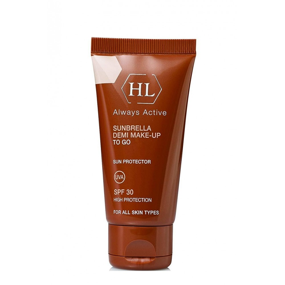 Солнцезащитный крем с тоном - Holy Land Cosmetics Sunbrella SPF 30 Demi Make-Up