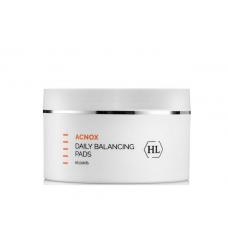 Балансирующие спонжы для лица - Holy Land Cosmetics Acnox Plus Daily Balancing Pads