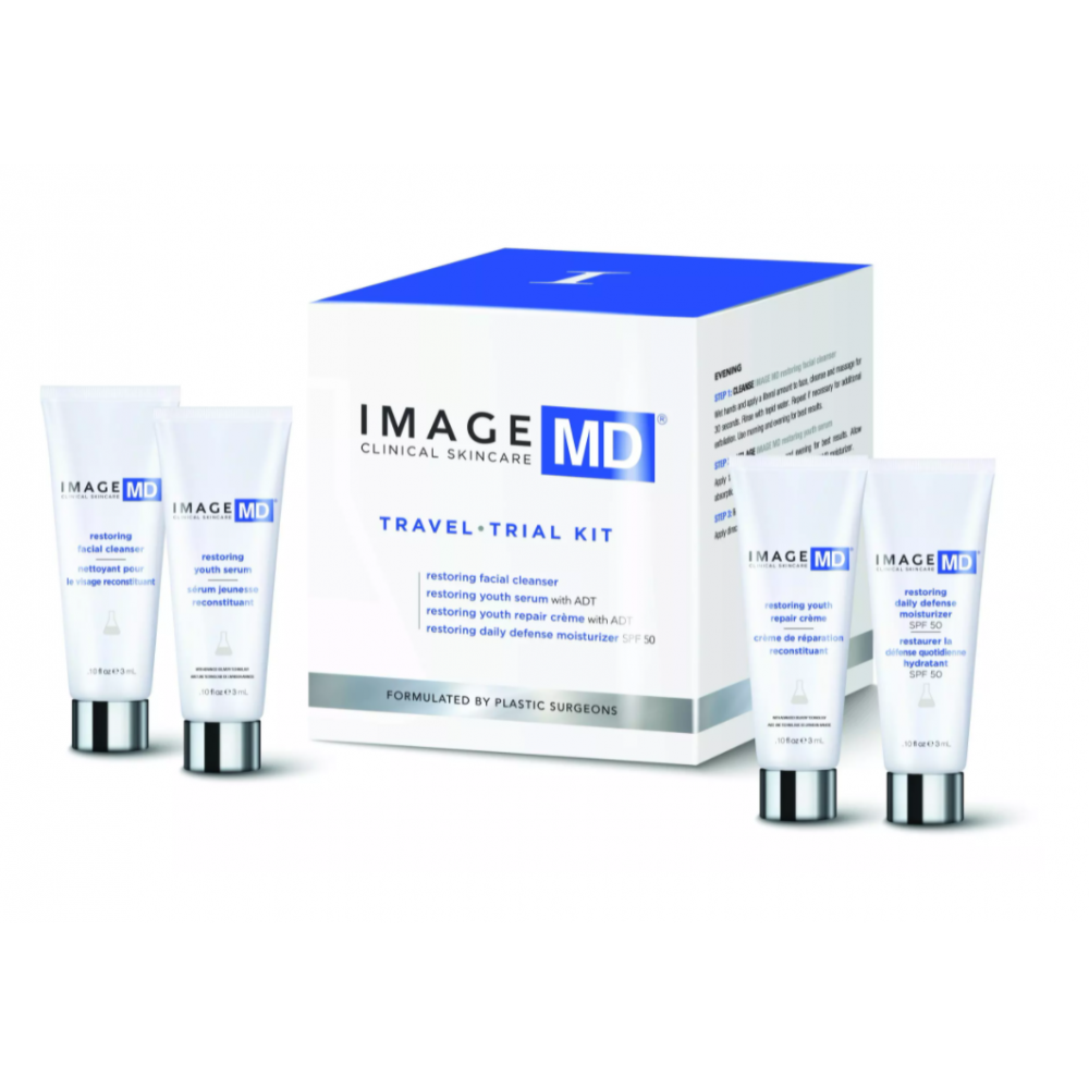 Базовий набір - Image Skincare MD Travel / Trial Kit