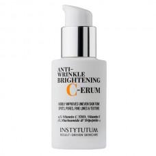 Суперконцентрированная сыворотка с витамином C - Instytutum Anti - wrinkle Brightening C-erum