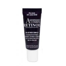 Маленька концентрована сироватка з ретинолом проти старіння шкіри - Instytutum Anti-Aging X-Strength Retinol Serum Small
