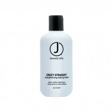 Лосьйон для вирівнювання волосся - J Beverly Hills Blue Style & Finish Crazy Straight Straightening Styling Lotion