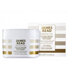 Кокосовий бальзам з ефектом засмаги для обличчя і тіла - James Read Coconut Tanning Balm