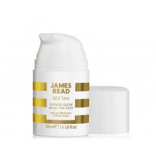 Експрес маска для обличчя з ефектом засмаги - James Read Express Glow Mask Tan Face
