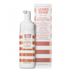 Бронзуючий мус-автозасмага для обличчя і тіла - James Read Fool Proof Bronzing Mousse Face & Body - Dark