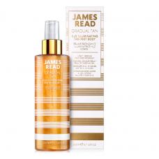 Мерехтливий спрей для тіла з ефектом автозасмаги - James Read H2O Illuminating Body Mist