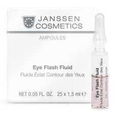 Ампулы для глаз - Janssen Cosmetics Ampoules Eye Flash Fluid