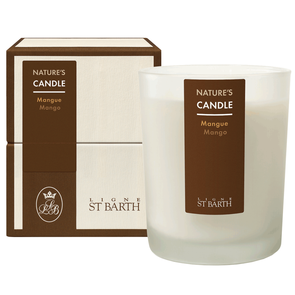 Ароматическая свеча Манго – Ligne St Barth Nature's Candle Mango