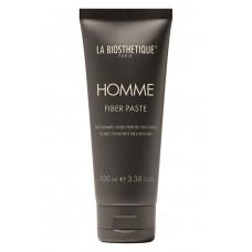 Моделююча паста-павутинка для волосся з атласним блиском - La Biosthetique Homme Fiber Paste