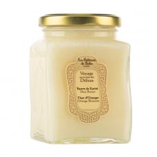 Масло карите с ароматом апельсиновых цветов - La Sultane De Saba Beurre De Karite Fleur D'oranger