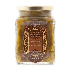 Чорне мило для обличчя та тіла з аргановою олією й евкаліптом - La Sultane De Saba Black Soap With Argan Oil