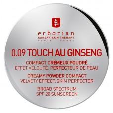 Компактная Крем-пудра SPF20 - Erborian 0.09 Touch Au Ginseng Powder SPF20
