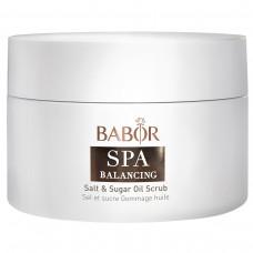 Сахарно-Солевой Скраб для Тела СПА Баланс - Babor Salt & Sugar Oil Scrub