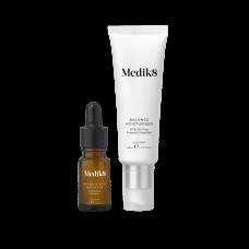 Увлажняющий крем для проблемной кожи с пребиотиками и активатором с гликолевой кислотой - Medik8 Balance moisturiser with glycolic acid activator