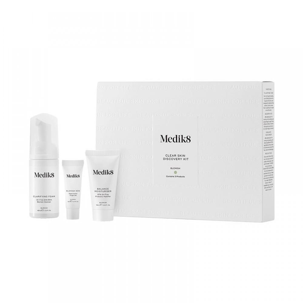 Набор-знакомство чистая кожа - Medik8 Clear skin discovery kit