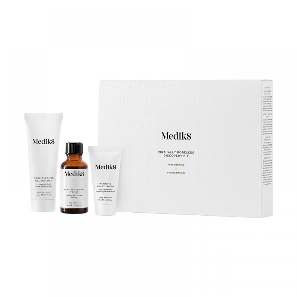 Набор-знакомство уменьшение пор - Medik8 Virtually poreless discovery kit