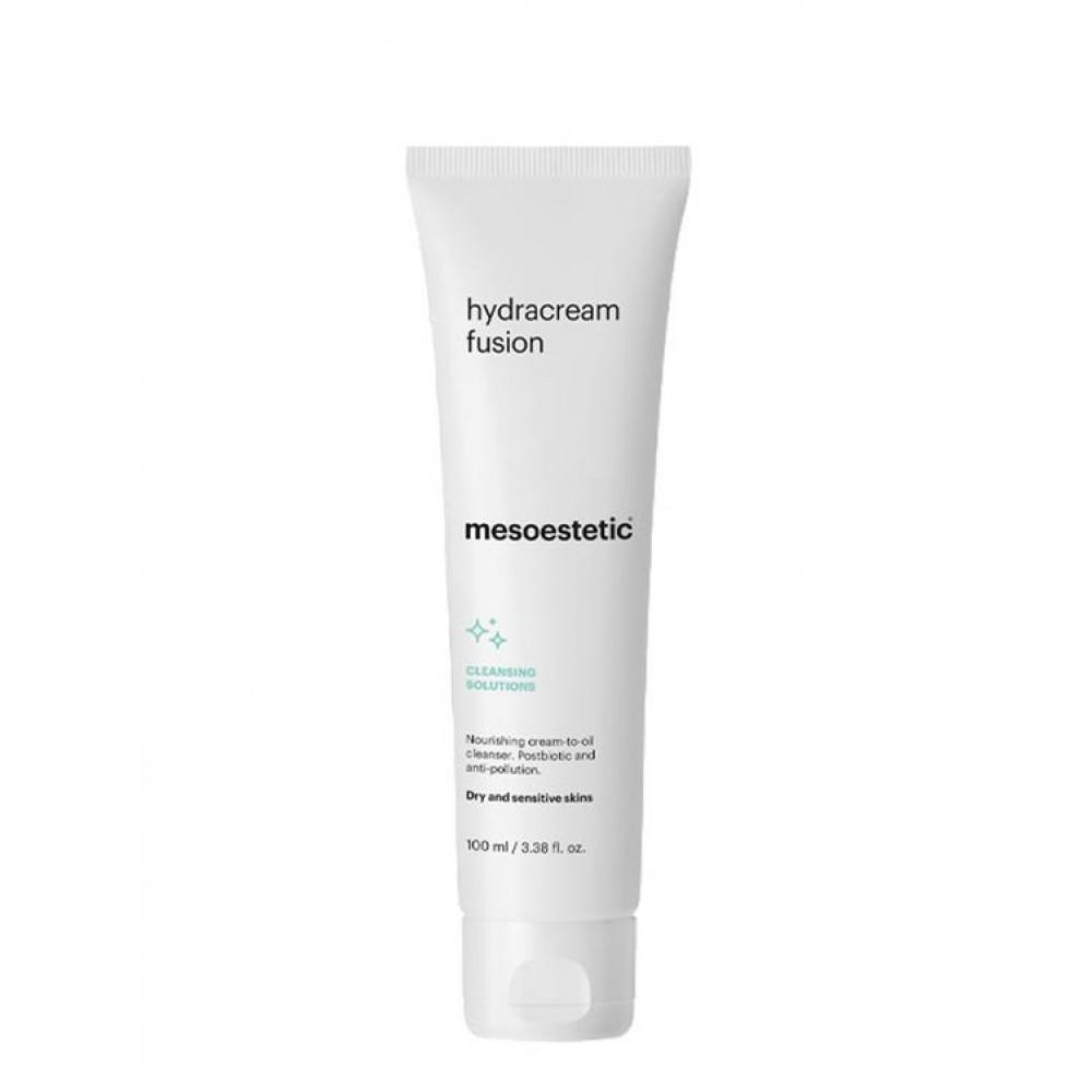 Крем-молочко для очищення чутливої шкіри - Mesoestetic Hydracream fusion