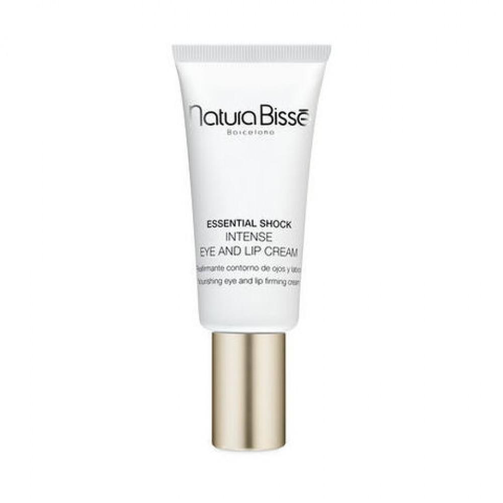 Інтенсивний крем для догляду за сухою шкірою в області очей та губ - Natura Bisse Essential Shock Intense Eye and Lip Treatment SPF15