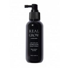 Стимулирующий спрей против выпадения волос - Rated Green Real Grow Anti-Hair Loss Stimulating Scalp Spray