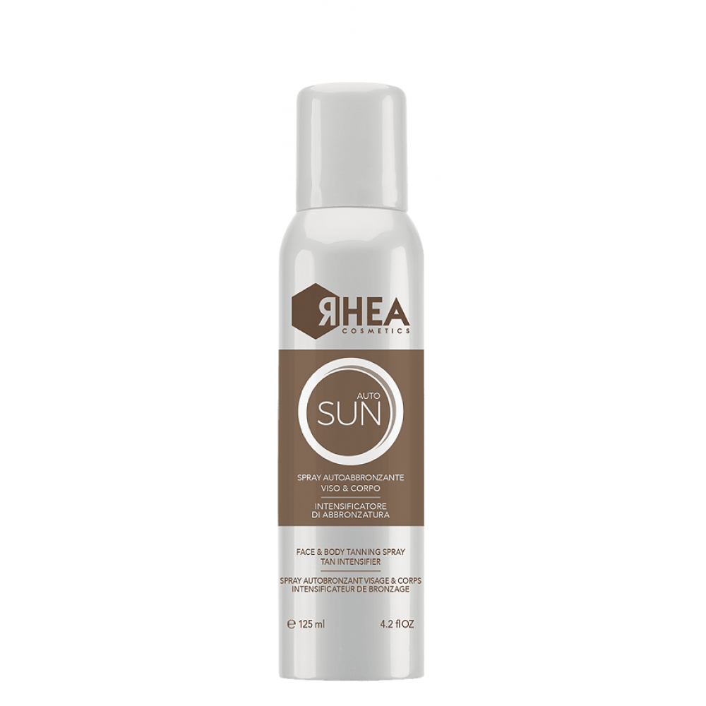 Автозасмага для обличчя і тіла - Rhea AutoSun Face & Body Tanning Spray