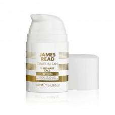 Ночная маска для лица с эффектом загара с ретинолом - James Read Sleep Mask Tan Face Retinol