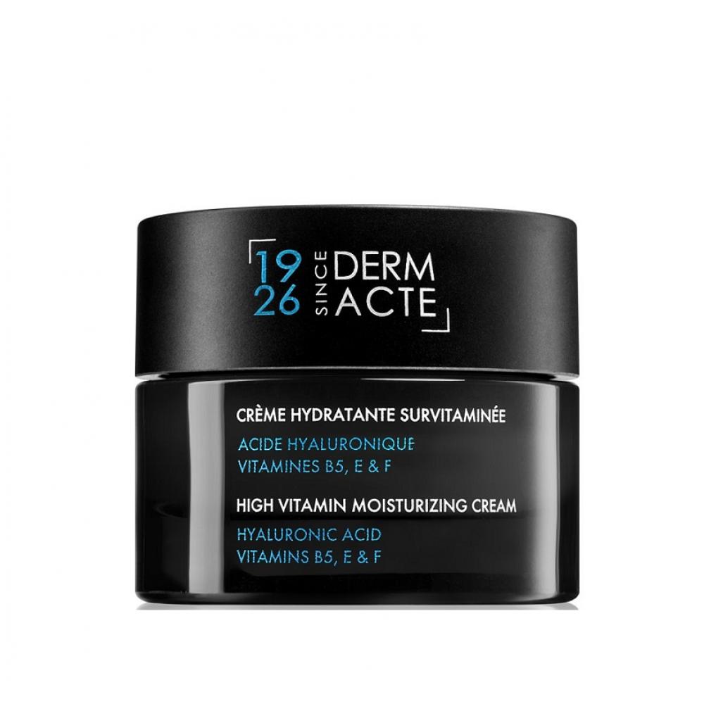 Витаминизированный увлажняющий крем - Academie  Derm Acte Hyaluronic Acid Vitamins B5, E & F
