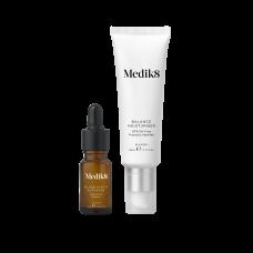 Зволожуючий крем для проблемної шкіри з пребіотиками та активатором з гліколевою кислотою - Medik8 Balance moisturiser with glycolic acid activator