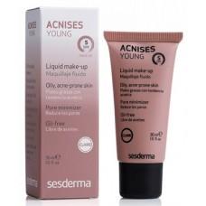 Тональный крем для проблемной кожи - SesDerma Laboratories Acnises Young tone I SPF 5