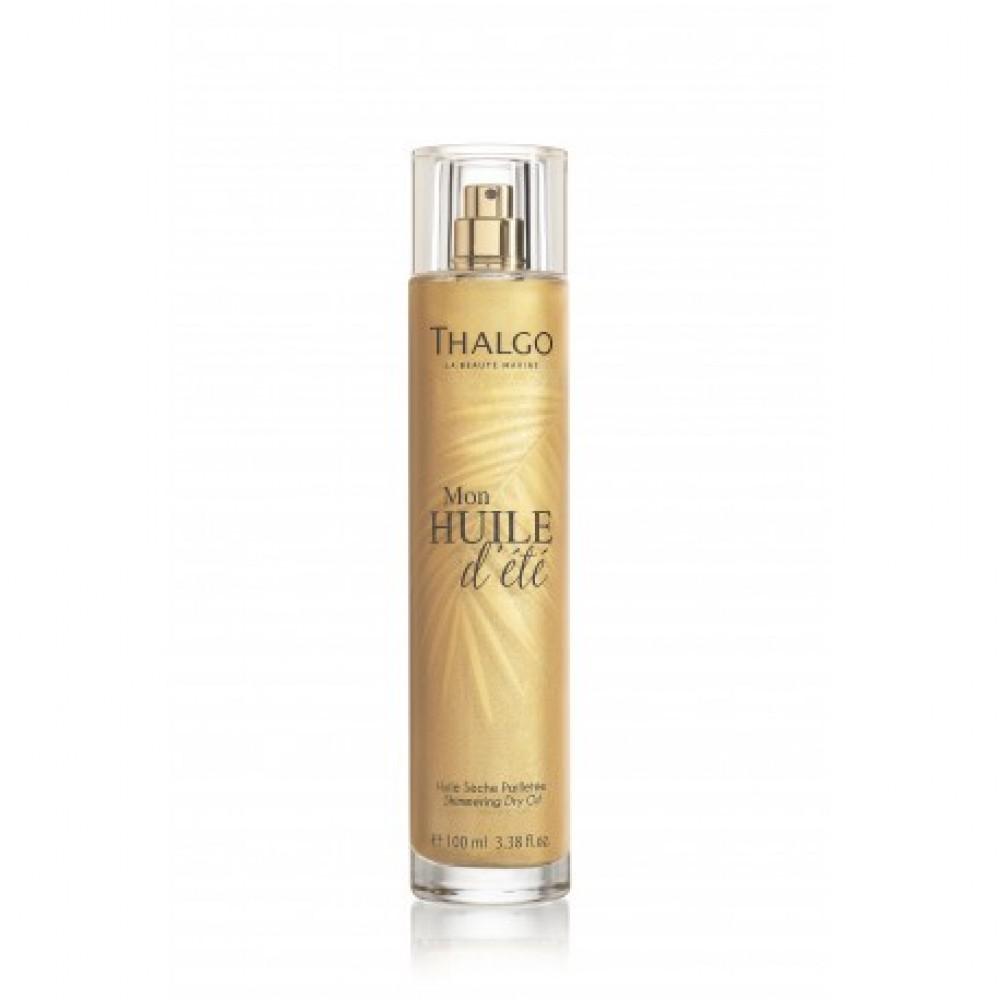 Сухое Питательное Масло с эффектом сияния - Thalgo Shimmering Dry Oil