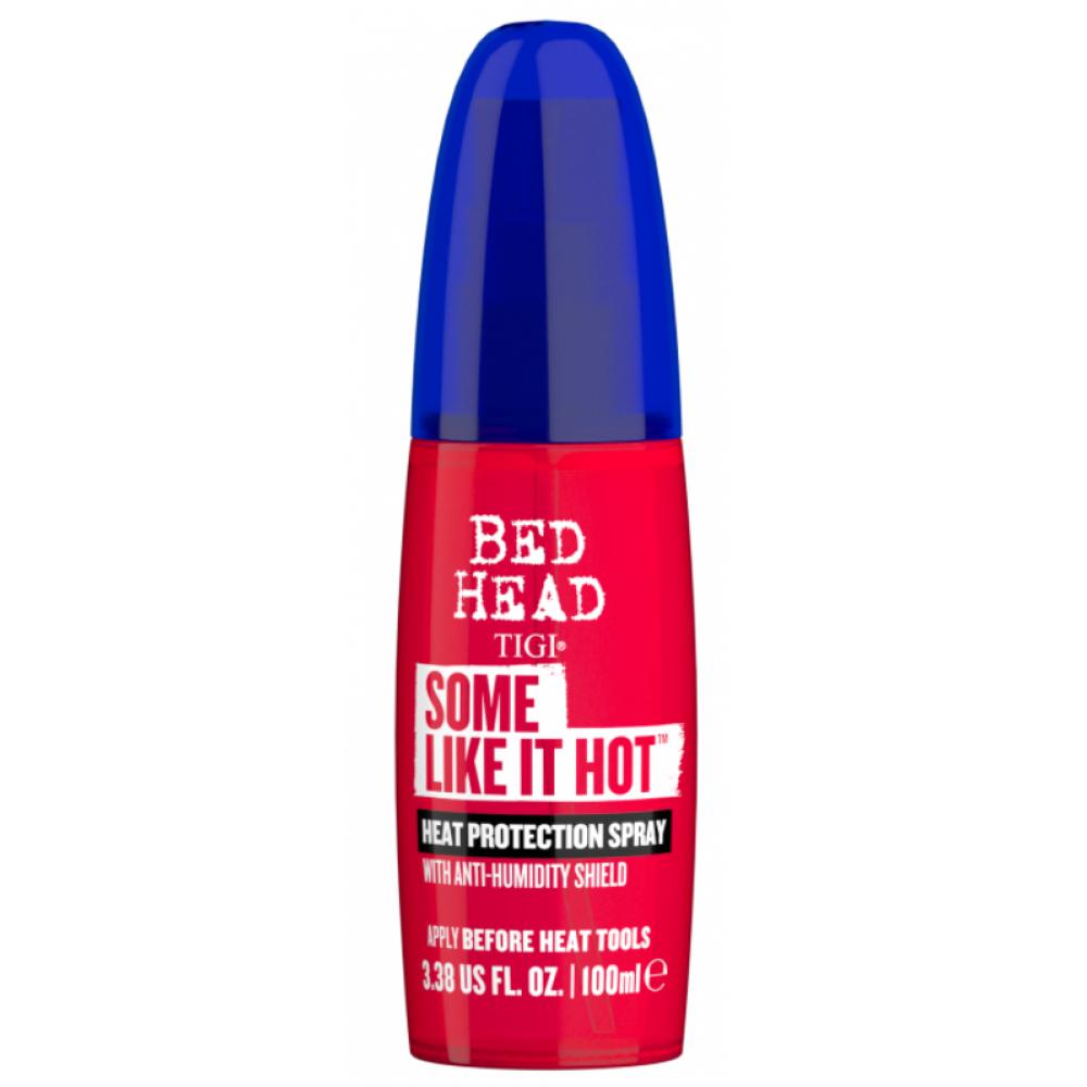 Термозахисний спрей для волосся - Tigi Bed Head Some Like It Hot Spray Non-Aero