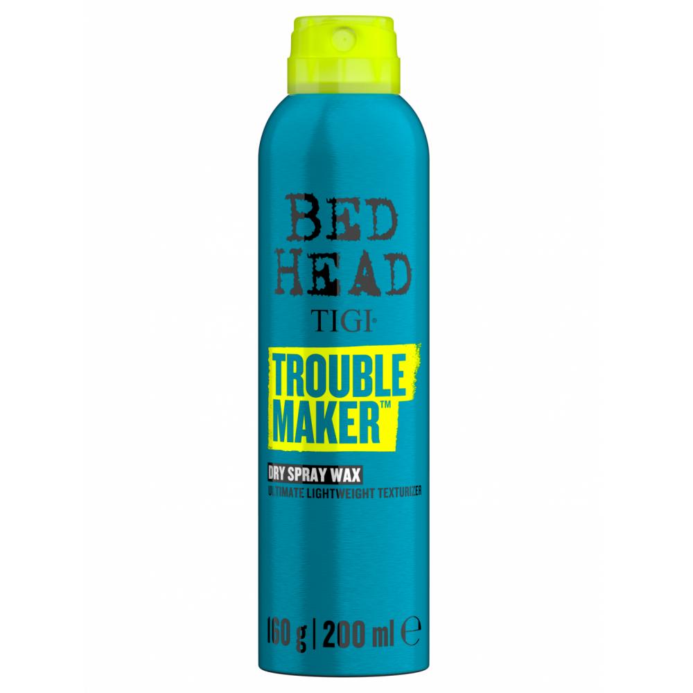 Текстуруючий спрей-віск для волосся - Tigi Bed Head Troublemaker Spray Wax