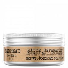 Мягкий воск для укладки волос - Tigi B For Men Matte Separation Workable Wax