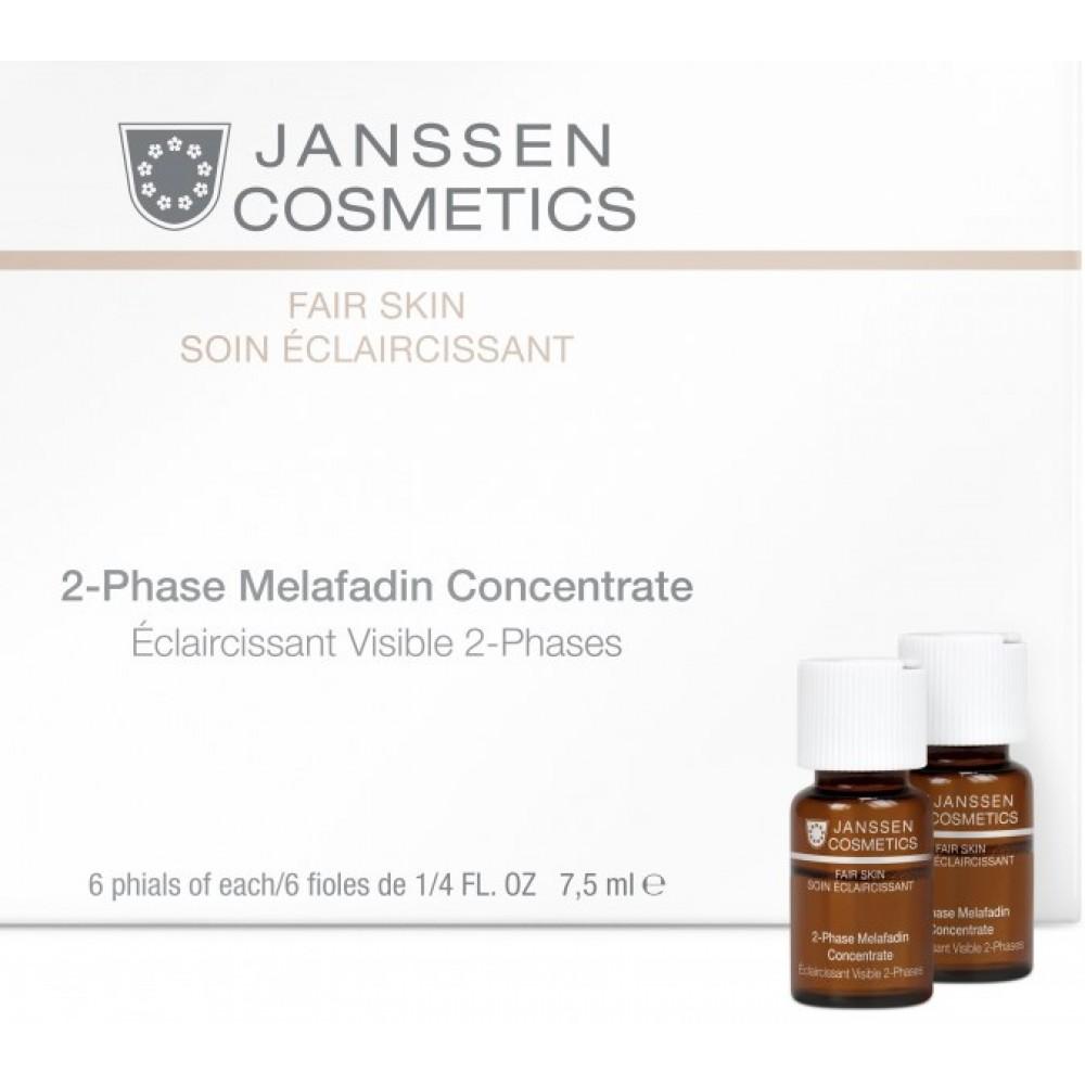 2-х-фазный отбеливающий комплекс - Janssen Cosmetics 2-Phase Melafadin