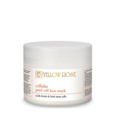 Альгинатная маска со стволовыми клетками и фруктовыми экстрактами - Yellow Rose Cellular Peel-Off Face Mask